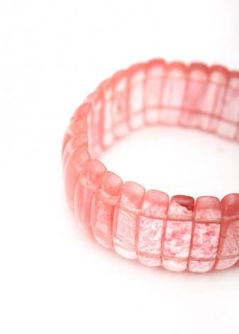 Quartz Cherry Bracelet