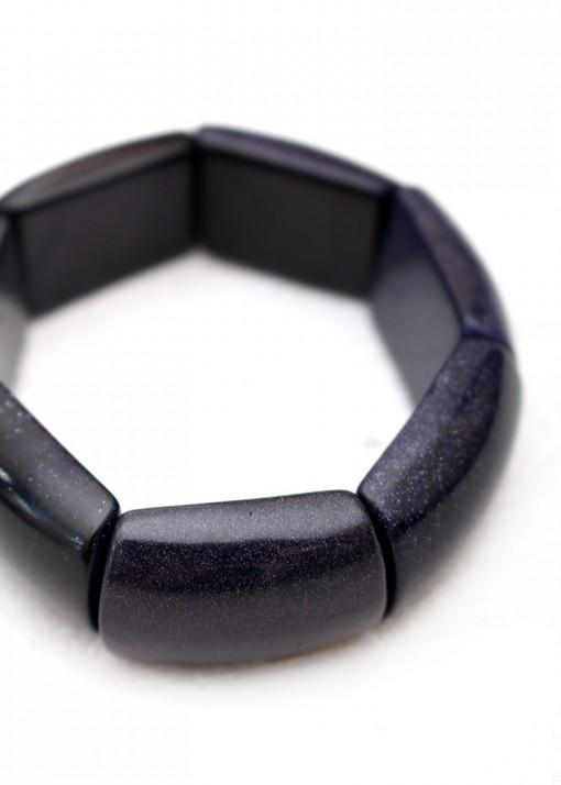 Chunky Sandstone Blue Bracelet