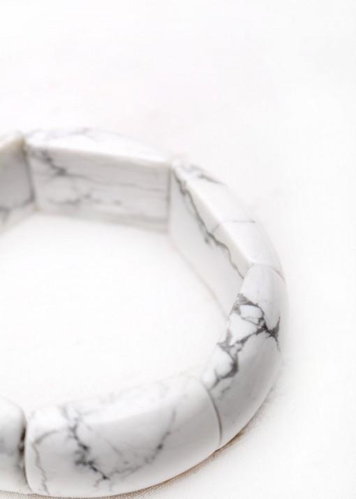 Howlite Chunky Bracelet