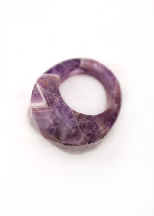 Amethyst Statement Chunky Ring