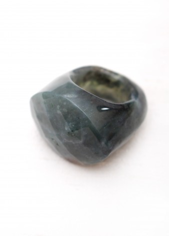 Oversized Indian Agate Ring