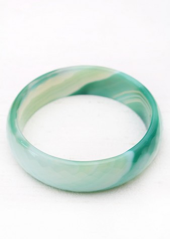 Apple Green Bangle Bracelet