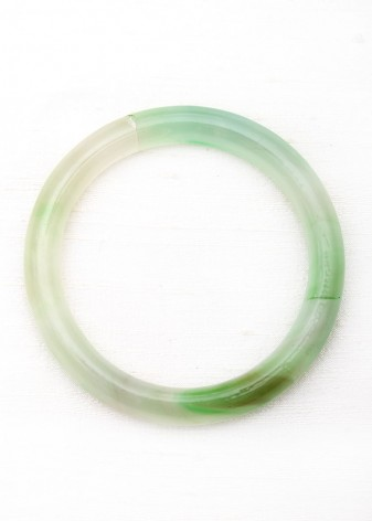 Mojito Green Agate Bangle