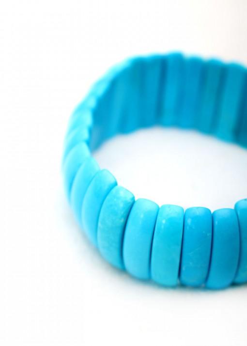 Stone Turquoise Bracelet