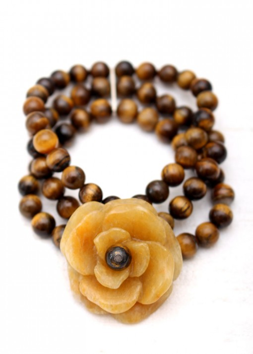 Chunky Tiger Eye Bracelet