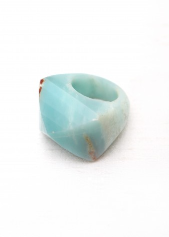 Amazonite Chunky Ring