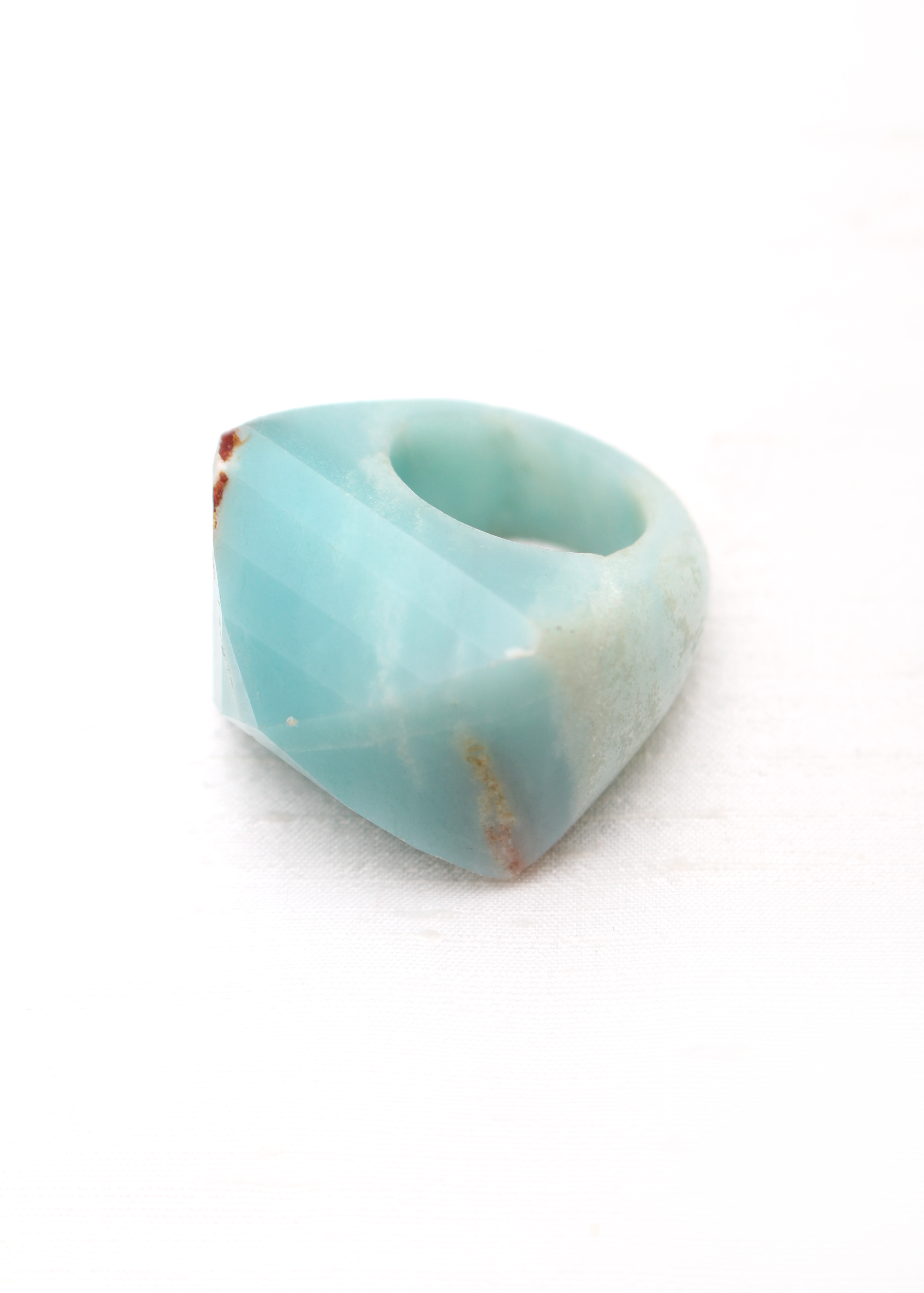 stones rings sterling women ring accessories item silver jewelry size ethnic blue amazonite vintage
