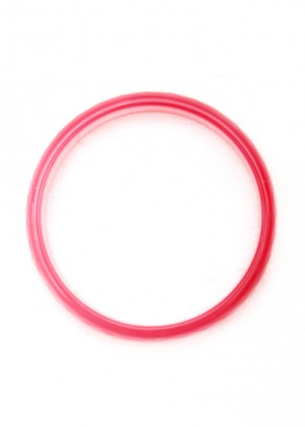 Semi-Precious Faceted Pink Bangle