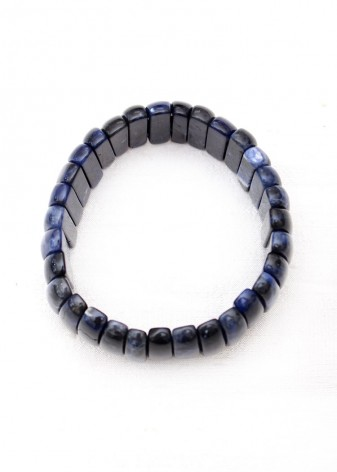Blue Lapis Chunky Bracelet