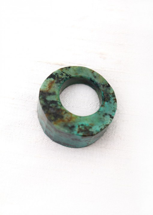 African Turquoise Chunky Ring
