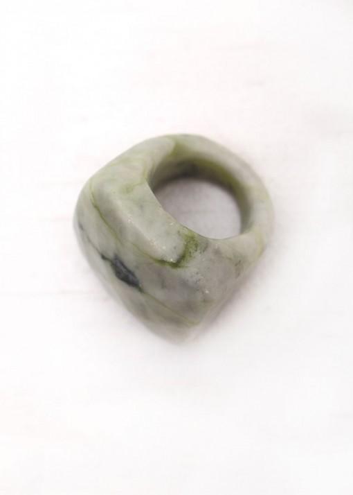 Chunky Jasper Ring