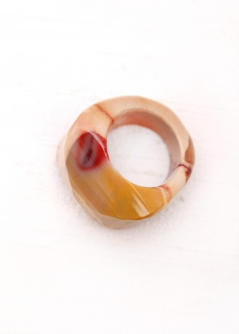Red Jasper Chunky Ring