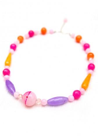 Summery Pink Collar