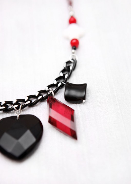Poker Face Pendant Necklace