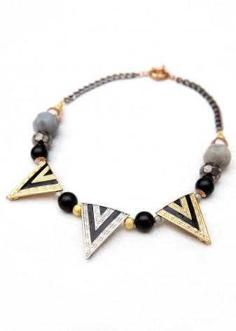 Yeah Beaded Collar Necklace