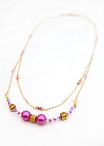 Petite Pearl Delicate Necklace