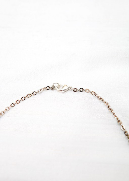 Pink and Grey Pearl Cluster Pendant Necklace