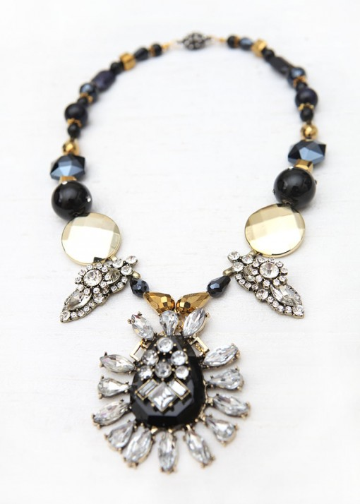 Pendant Beaded Showstopper Necklace