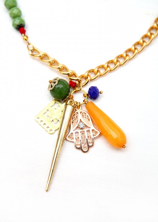 Totem Charm Necklace