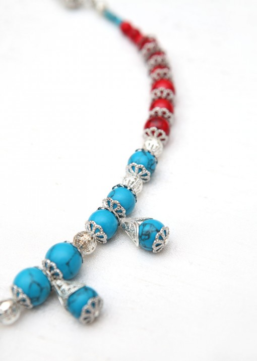 Turquoise Vibes Pendant Necklace