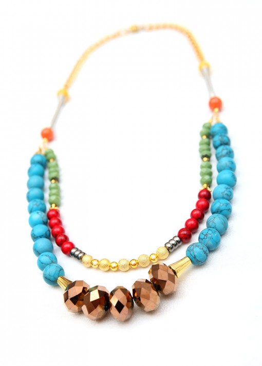 Statement Free For All Necklace