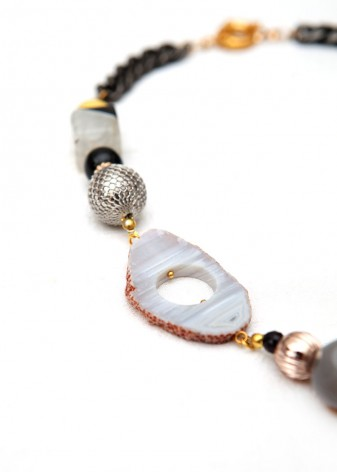 Obvs Druzy Pendant Necklace