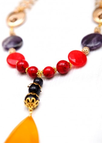 Primary Princess Pendant Necklace