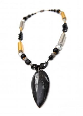 Rock Rebellion Pendant Necklace