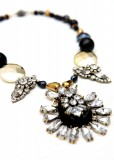 Showstopper Beaded Pendant Necklace