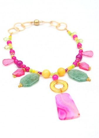Tropic Wonder Pendant Necklace