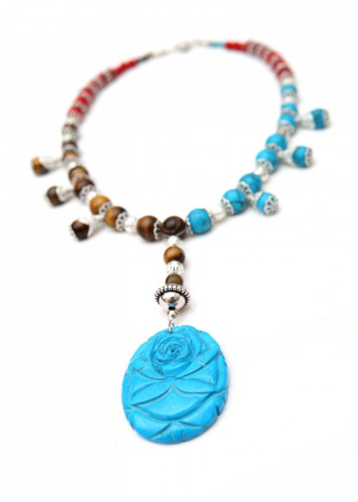 Pendant Turquoise Vibes Necklace
