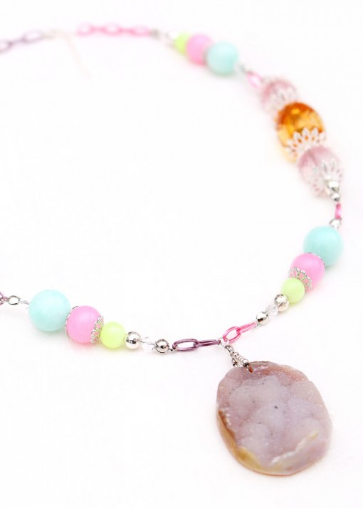 Sherbet Pendant Necklace