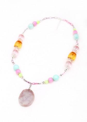 Sherbet Pendant Necklace