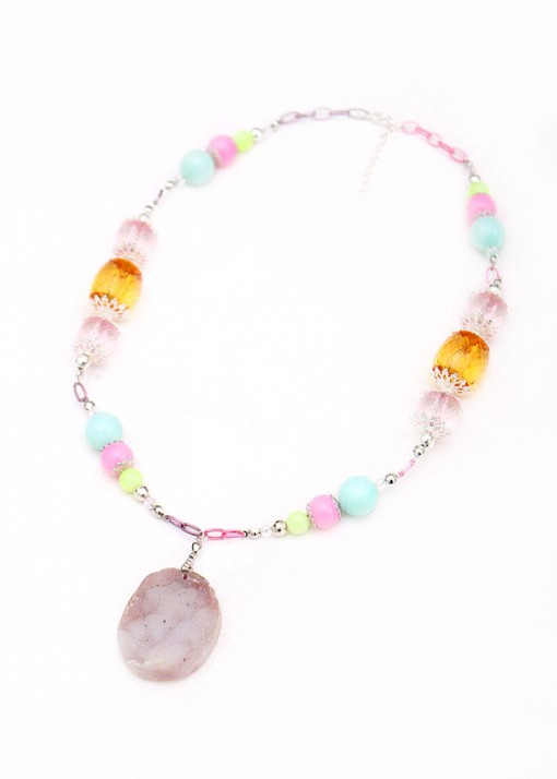 Pendant Sherbet Necklace