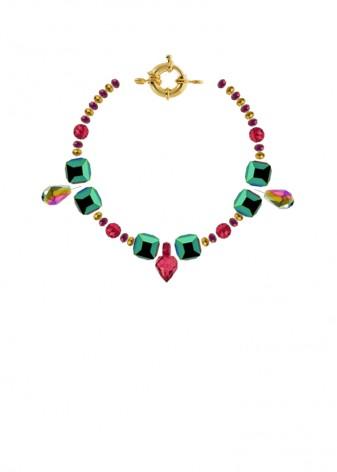 Aura Iridescent Charm Bracelet