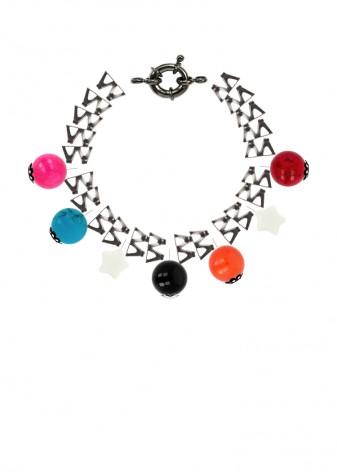 Ziggy Stardust Jade Charm Bracelet