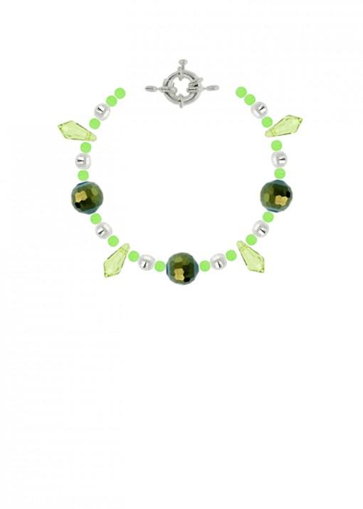 Forest Pixie Jade Beaded Bracelet