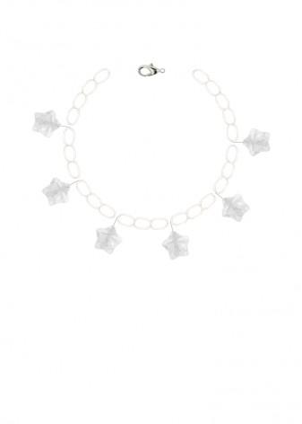 Quartz Clear Sky Charm Bracelet