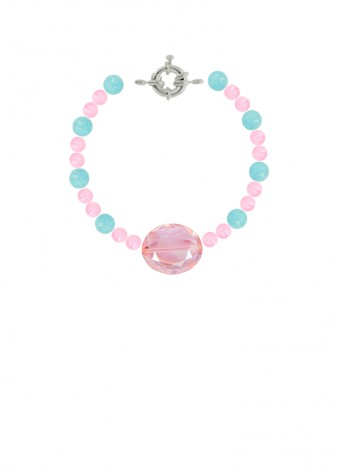 Beaded Bubblegum Princess Bracelet