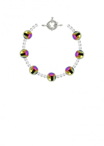 Chunky Disco Ball Bracelet