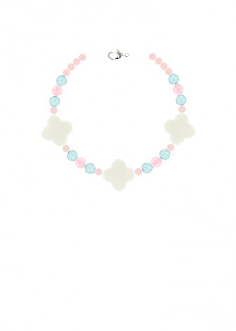 Beaded Pretty Pastel Bracelet
