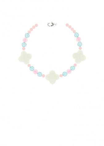 Beaded Pretty Pastel Bracelet