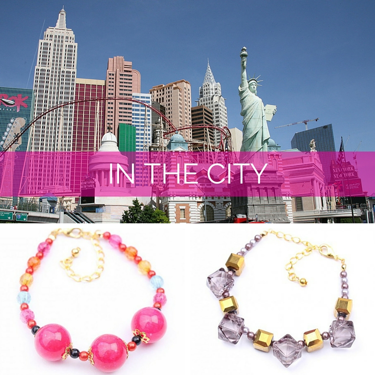 In the City Holiday Anklets at DIWAH.com