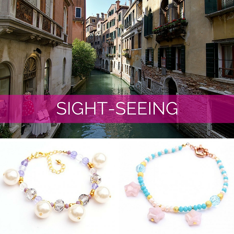Sight-seeing Holiday Anklets at DIWAH.com