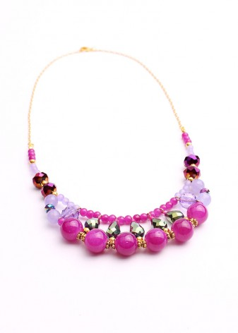 Tasseomancy Beaded Necklace